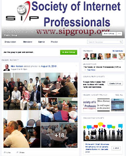Society of Internet Professionals Facebook page, photos