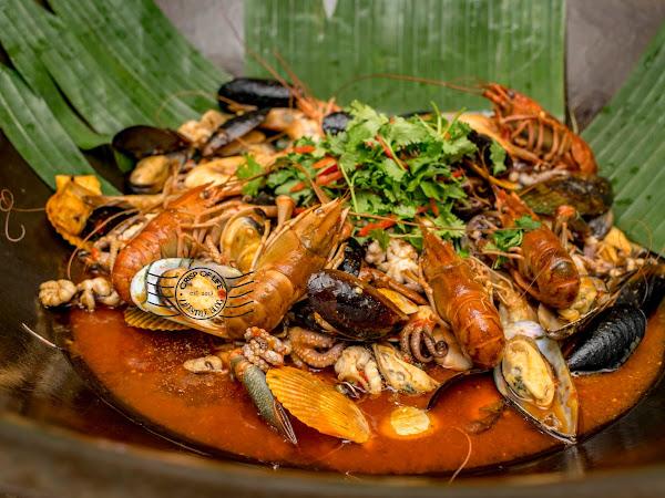 Hot Wok Seafood Buffet Dinner @ Lexis Suites Penang