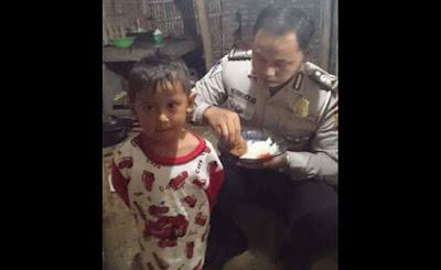 "POLISI HEBAT! ""Saya Rela Dan Ikhlas Hidup Di Gubuk dan Makan Tahu Tempe, Asalkan Keluarga Saya Tidak Makan Dari Penghasilan Haram"""