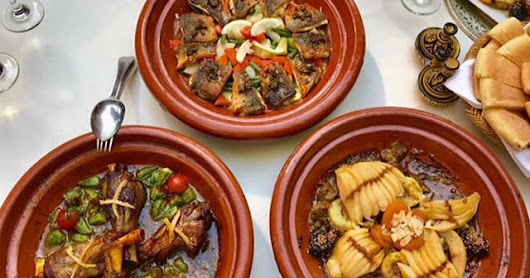Top-10-list of Moroccan food