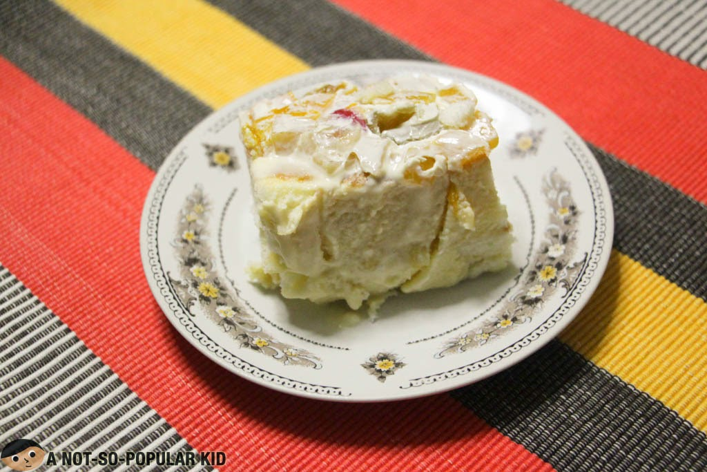 Crema de Fruta made with Inipit bars of Lemon Square