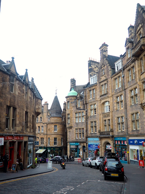 Cockburn Street, intersection with Royal Mile, Edinburgh