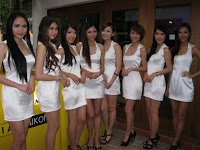 Models at Nikon's event