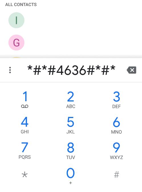 Kode Setting Sinyal ASUS