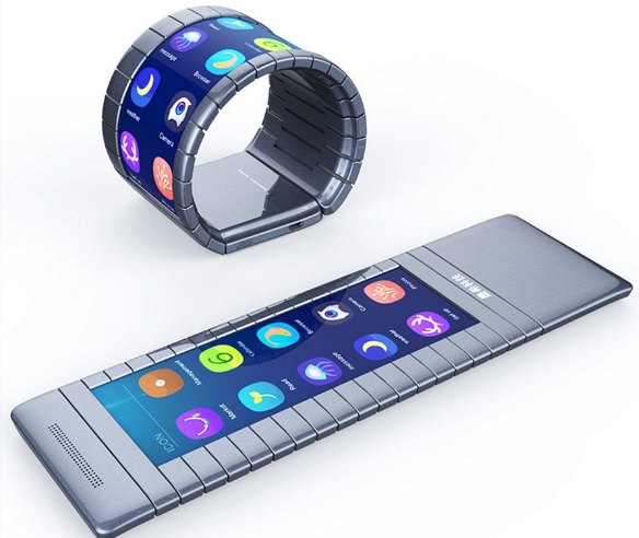 Bendable Smartphone's Time Is already: Moxi Set to Mail 100, 000 Devices 2016