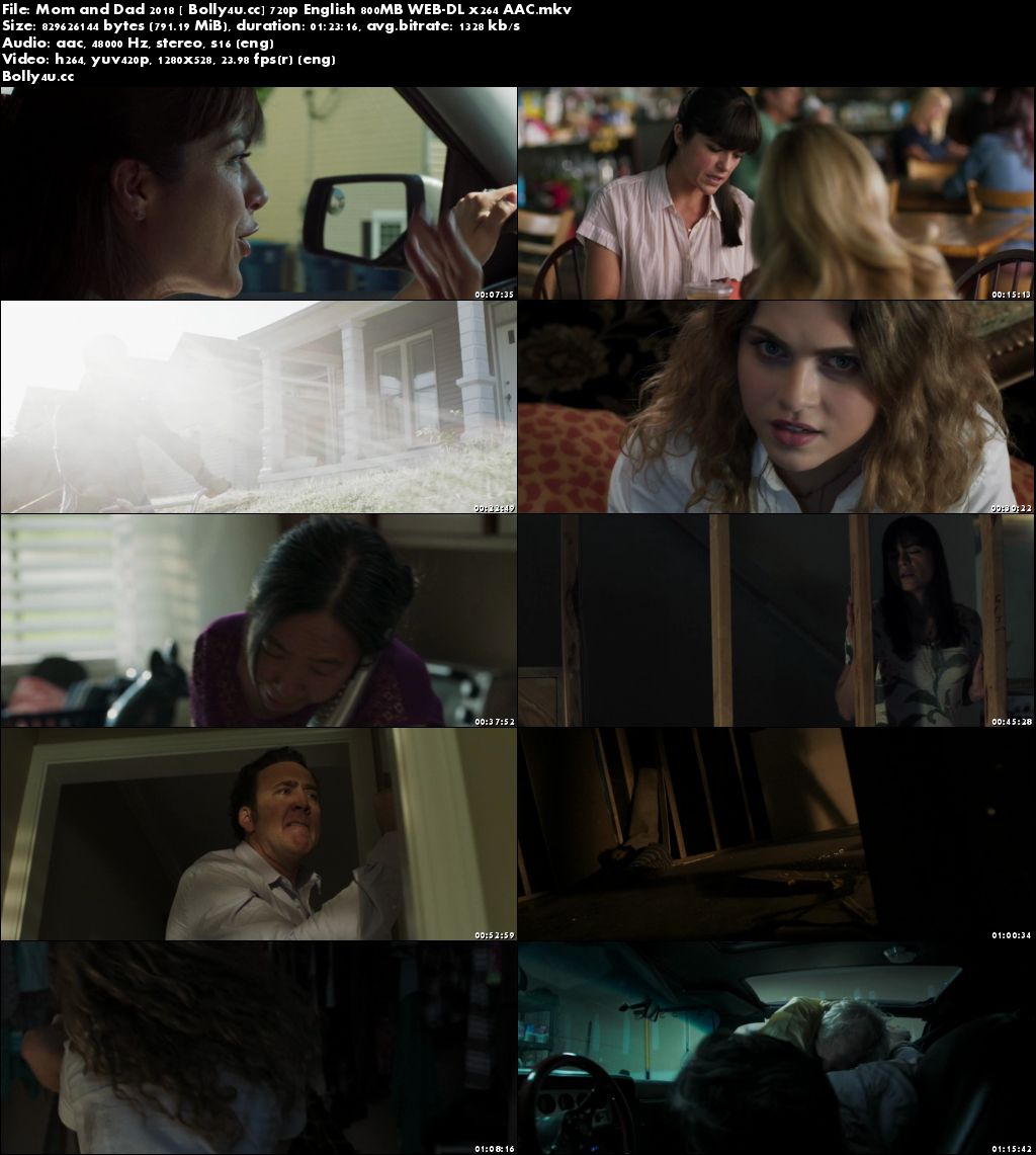 Mom and Dad 2018 WEB-DL 250MB English 480p
