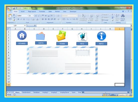 Aplikasi Terbaru Amplop Surat Dinas Otomatis