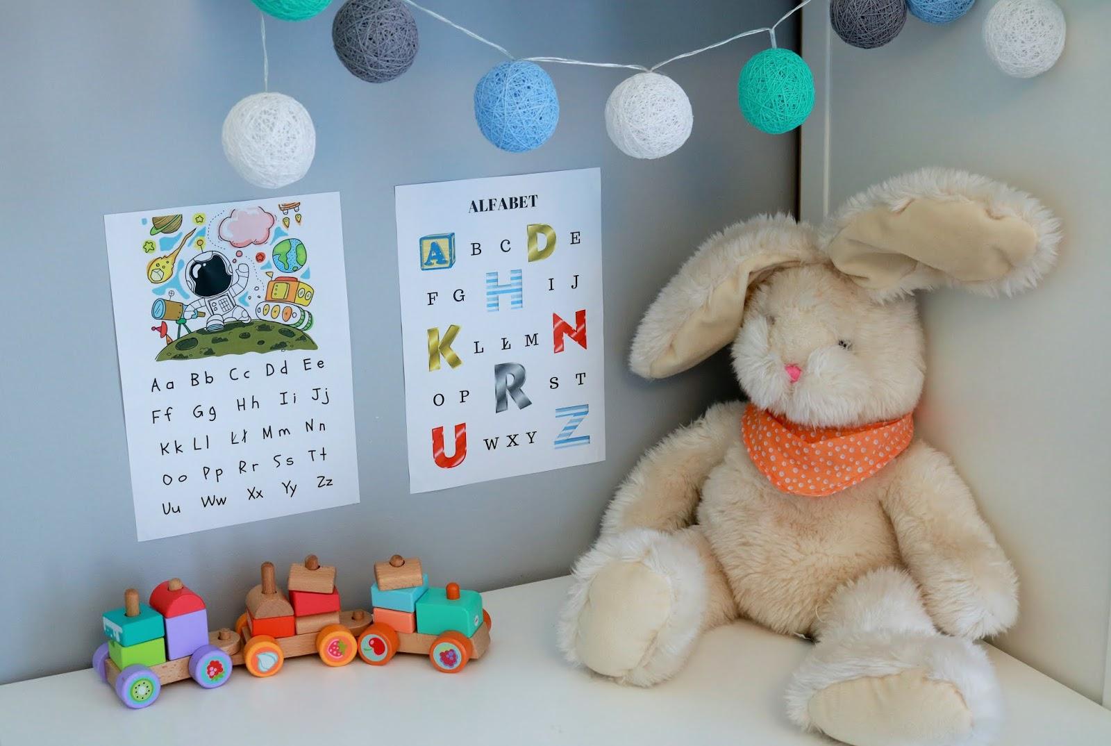 alfabet dla dzieci do druku
