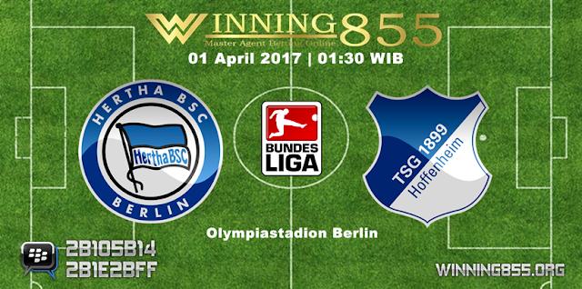 Prediksi Skor Hertha vs Hoffenheim 01 April 2017