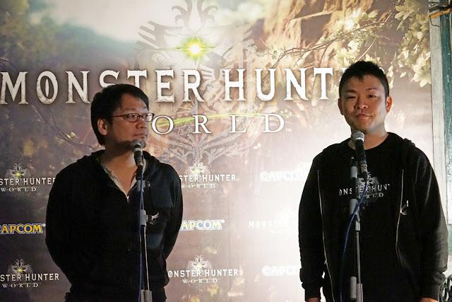 Se presenta Monster Hunter World en Madrid