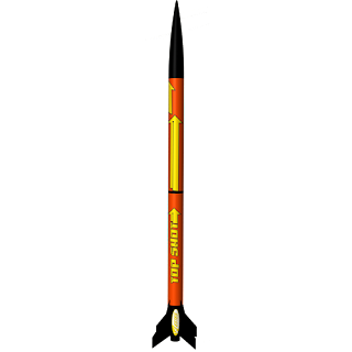 Estes Easy to Assemble Top Shot Model Rocket Kit, Model Rocket Store