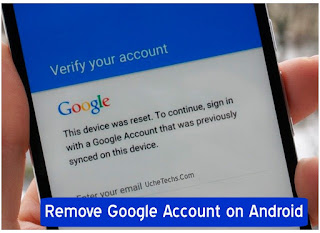 Remove a Gmail Account from an Android Phone