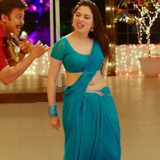 tamannaah bhatia in blue transparent wet saree hot compilation Collection 3 Navel Queens