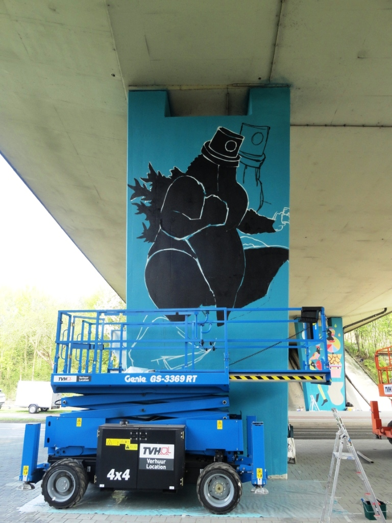 el nino 76 graffiti demos