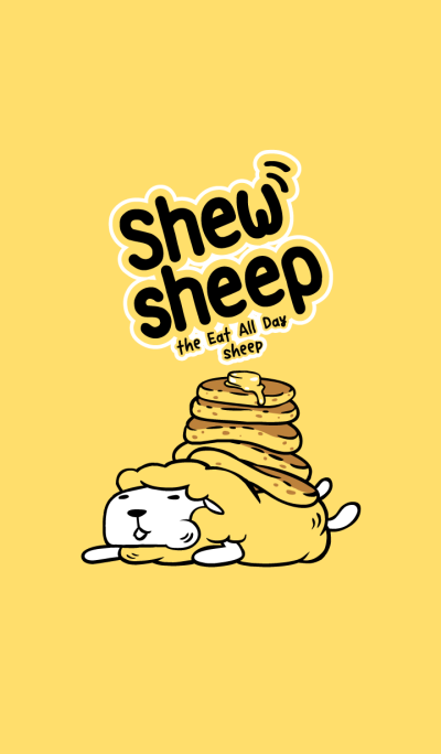 Shewsheep - the Eat All Day Sheep