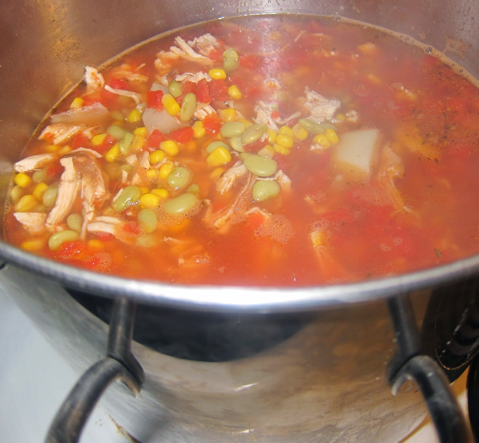 Barbecue Master: How To Make Brunswick Stew (mine Is With