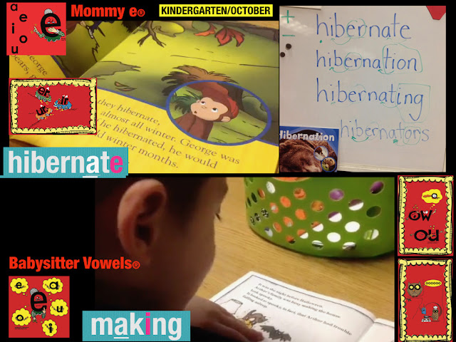 Secret Stories Mommy E® and the Babysitter Vowels® for EASY decoding of BIG words!