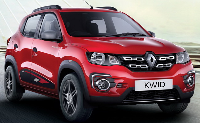 Tinuku Renault Kwid electric SUV into production in China