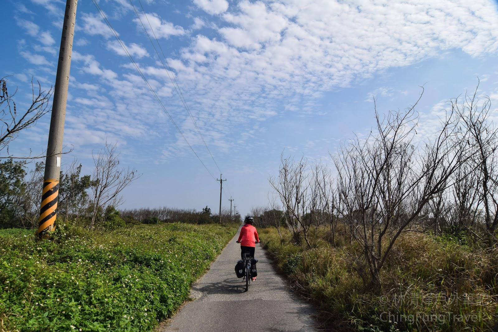 【騎行】三溪穿越&極西燈塔 台南七股濕地騎行