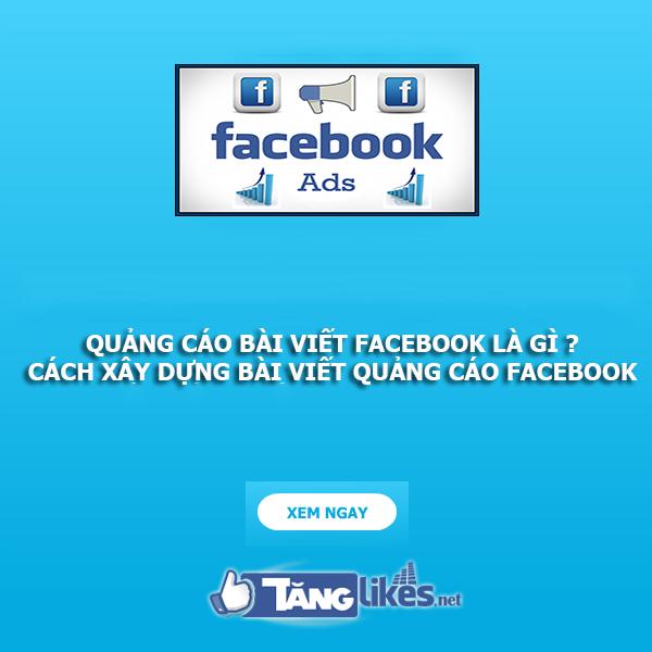 quang cao bai viet facebook