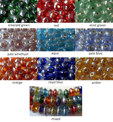 hand made Indian glass beads