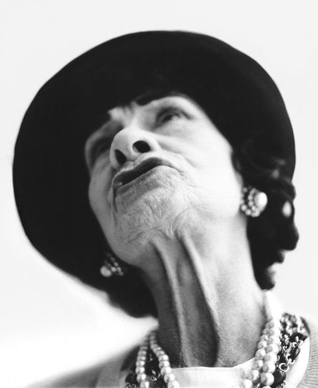 Coco Chanel_Richard Avedon_De volta ao retrô