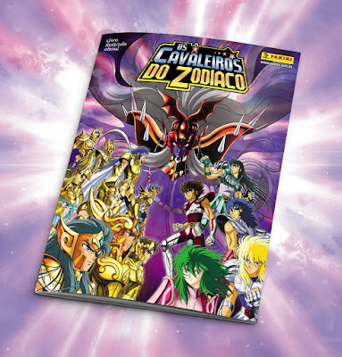 Cavaleiros do Zodiaco - Editora Panini mostra a Capa do novo album