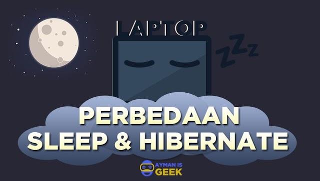 Perbedaan Mode Sleep dan Hibernate di Windows yang jarang diketahui orang