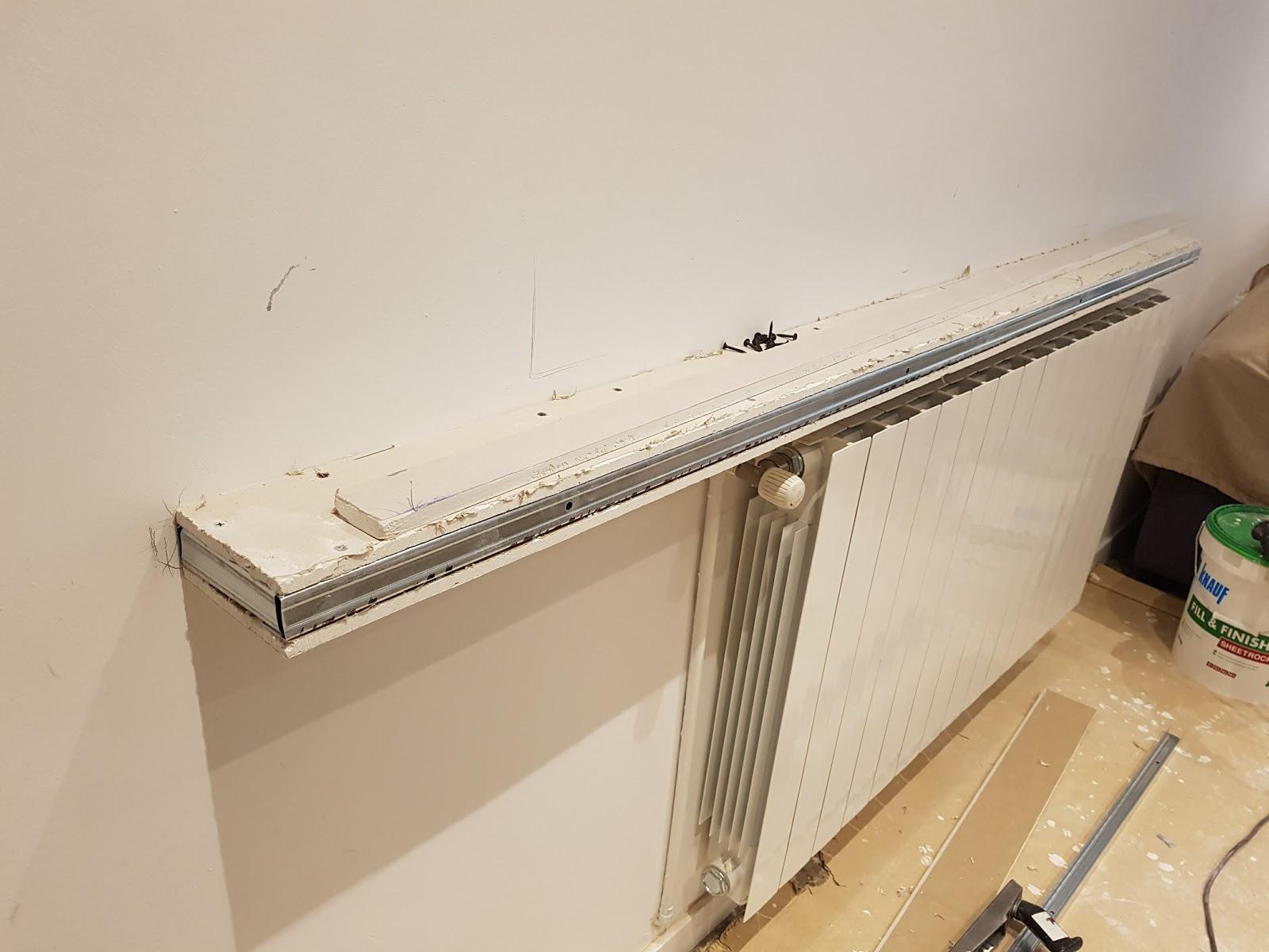 pladur barcelona repisa radiador