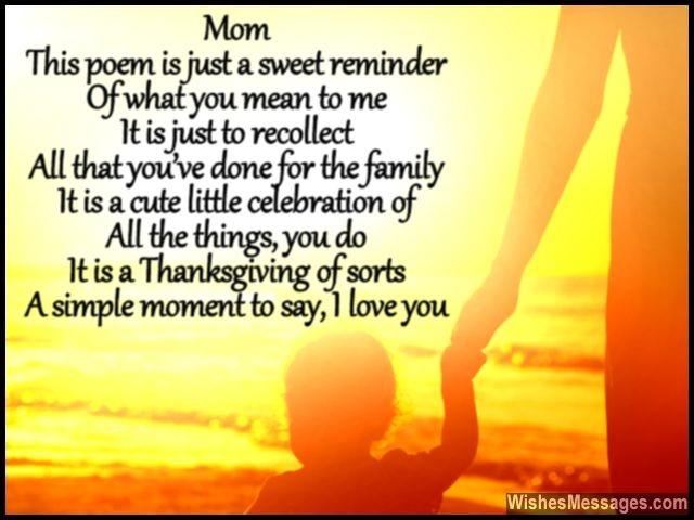 Happy mothers day 2016 poems for deceased mom