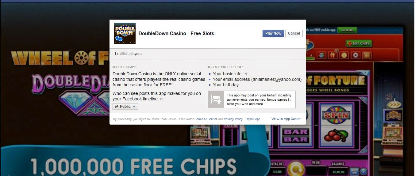 Email for double down casino