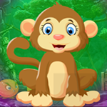 Games4King Leap Monkey Escape