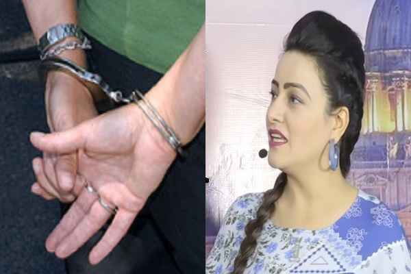 honeypreet-insan-arrest-by-haryana-police-breaking-news-in-hindi