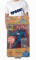 The Tick action figures