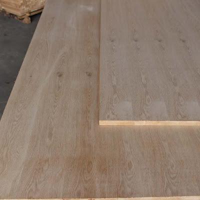 Gỗ ghép phủ veneer gỗ Sồi (oak)