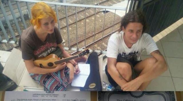 Dua Mahasiswa Asal Rusia Kini Jadi Gelandangan di Stasiun Sudirman, Jakarta Pusat