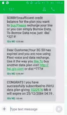 Get The Free 100GB From Glo