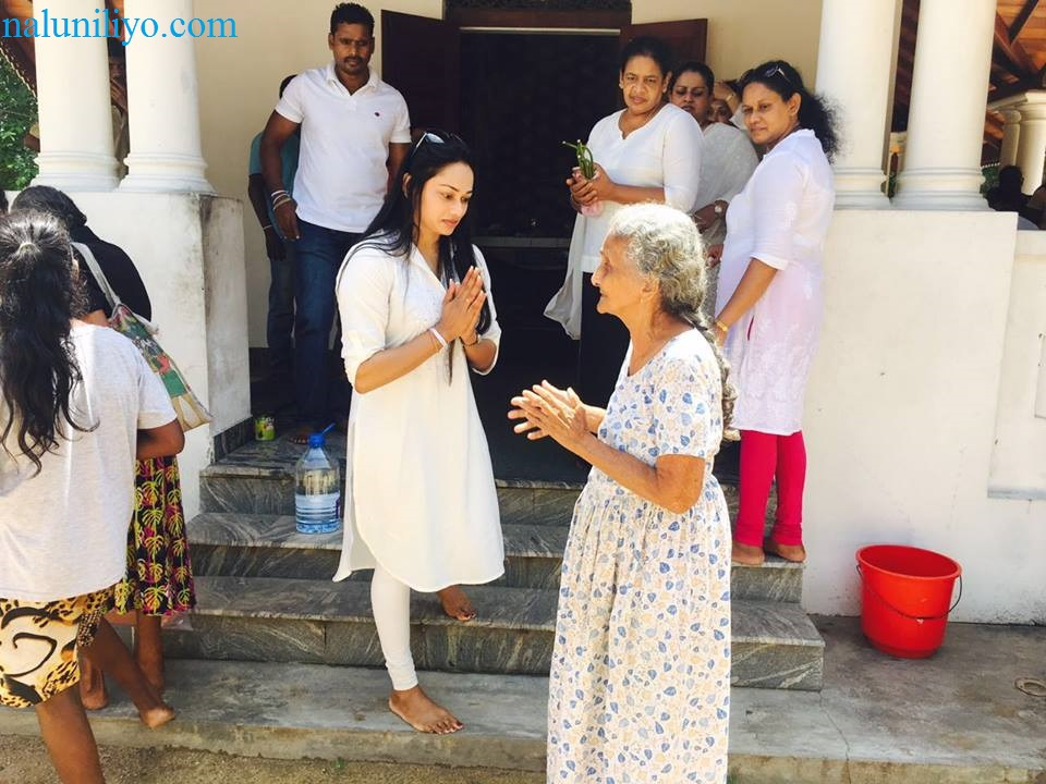 Janaki Wijerathne almsgiving birthday