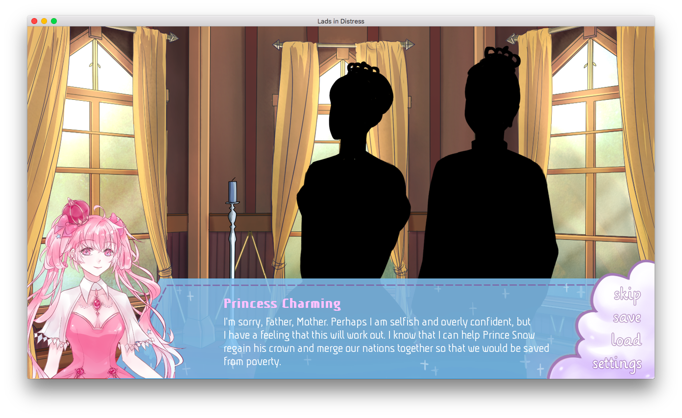visual novel review lads in distress