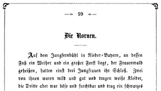 Mathilde Wesendonck: Die Nornen. 1865