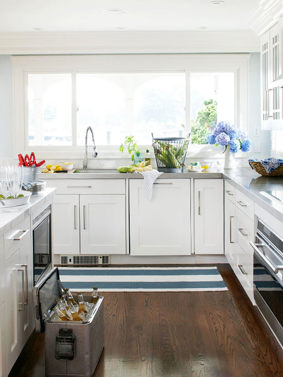 2013 White kitchen design ideas Home Design Ideas ... from BHG | Modern Furniture - White Kitchen Decorating Ideas