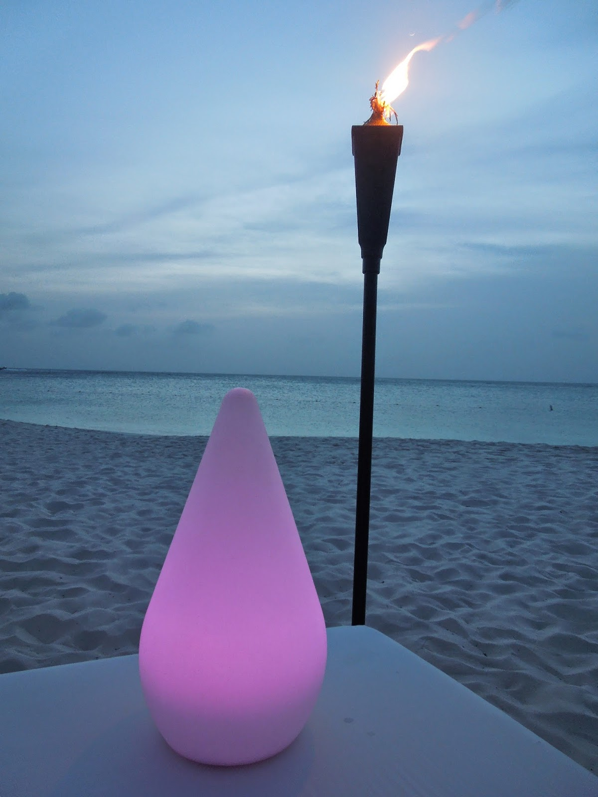 beach tiki torch