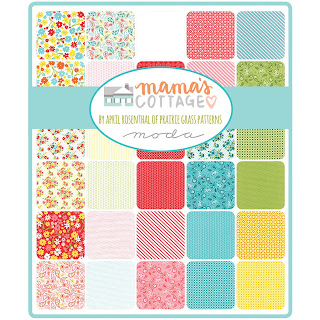 Moda Mama's Cottage Fabric by April Rosenthal for Moda Fabrics
