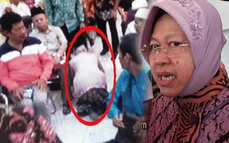 Risma sujud dan minta maaf ke Takmir Masjid