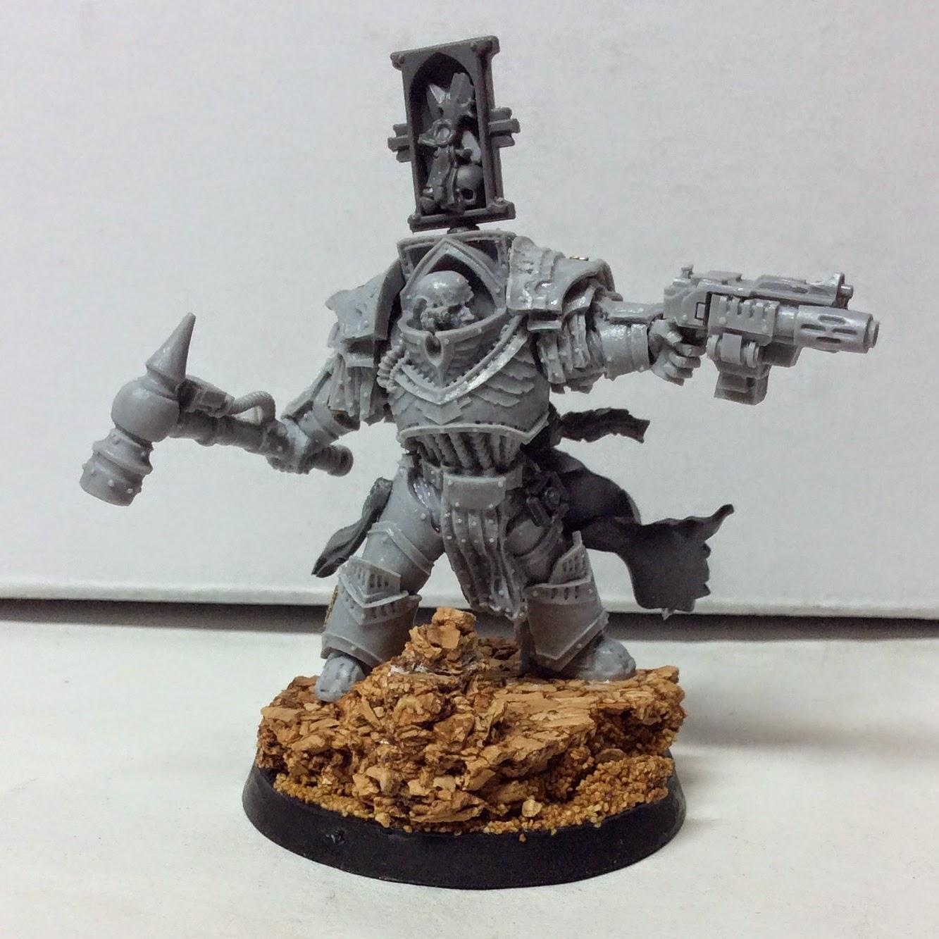 Ordo Malleus Inquisitor WIP Front