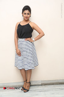 Telugu Actress Kruthika Jayakumar Stills in Short Dress at Intlo Deyyam Nakem Bhayam Success Meet  0271.JPG