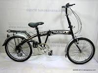 1 Sepeda Lipat Viva Hawk 6 Speed 20 Inci