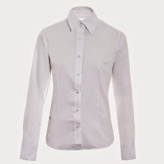 camisa social branca para trabalhar