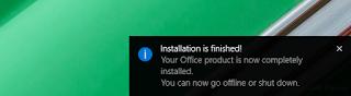 cara install office 2016 dengan gambar