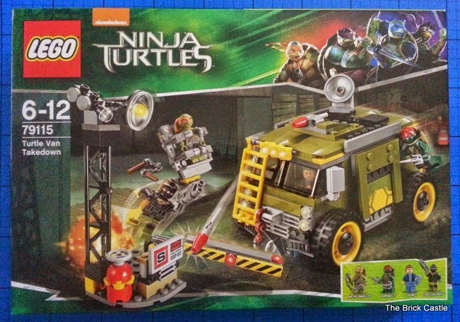 LEGO Teenage Mutant Ninja Turtles: Turtle Van Takedown Set 79115 Review